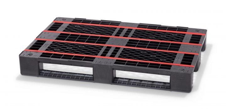 The Euro E7 from Cabka-IPS integrates seamlessly into conveyor systems tailored to Euro-pallets.