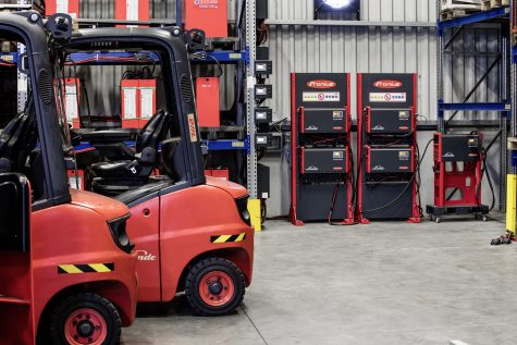 The short-term rental fleet's forklift trucks have to work perfectly and be turned around ready for use again as quickly as possible, often within 24 hours, despite users changing all the time.