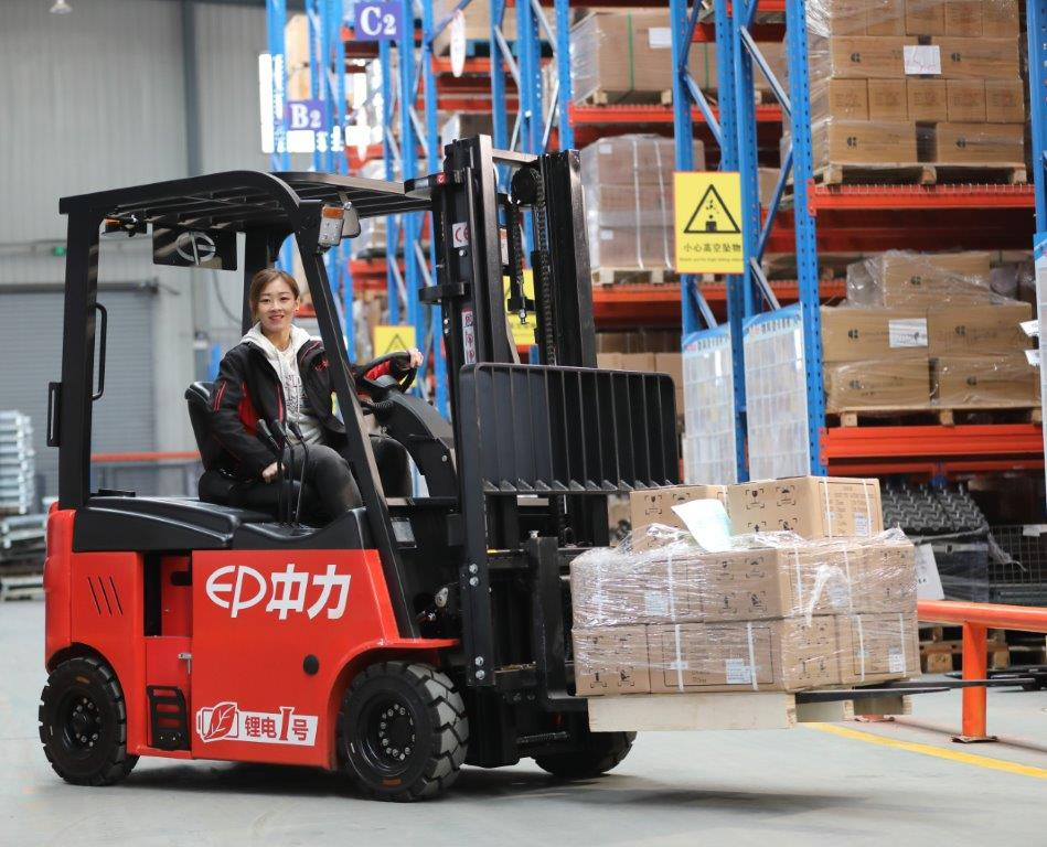 For EP it's all about lihium-ion at LogiMAT 2019 - Logistics Inside