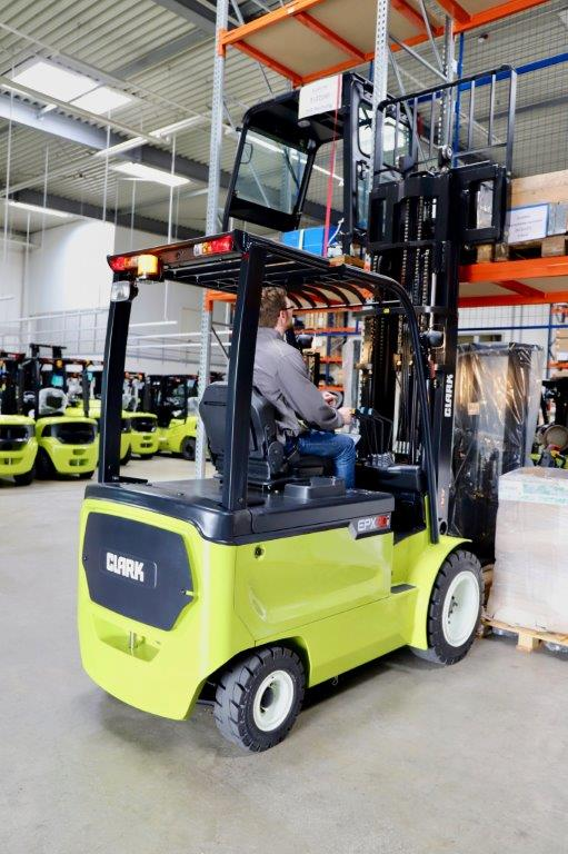 Clark introduces range of new electric four-wheel forklifts